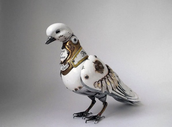 amazing steampunk sculptures that will blow your mind 13 pics 1