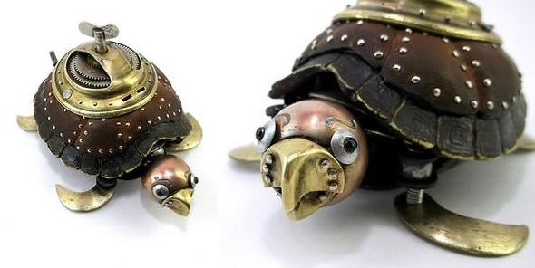 amazing steampunk sculptures that will blow your mind 13 pics 10