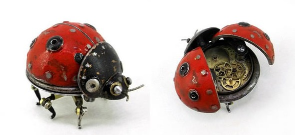 amazing steampunk sculptures that will blow your mind 13 pics 12