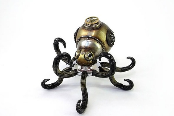 amazing steampunk sculptures that will blow your mind 13 pics 5