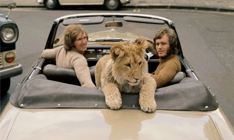 christian the lion who rode in bentley 1