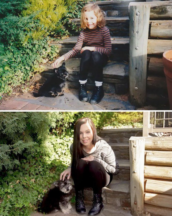 dogs and their owners  before and now  10 pictures 5