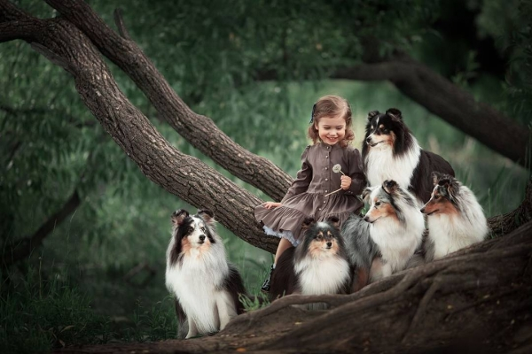 growing up with animals  growing up with love 10 pictures 5