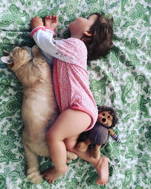 growing up with animals  growing up with love 10 pictures 6